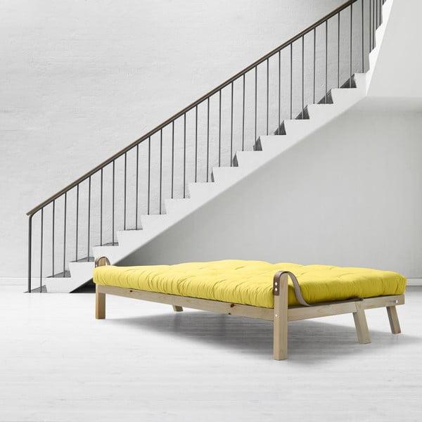 Sofa rozkładana Karup Poetry Clear Iacquered/Pistacio/Gris