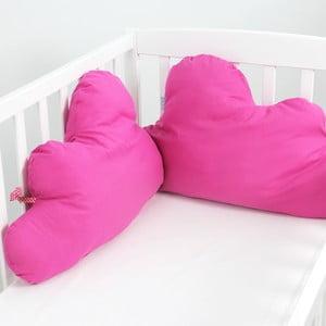 Ochraniacz bawełniany do łóżeczka Happy Friday Basic, 60x40cm
