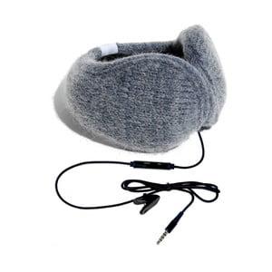 Nauszniki ze słuchawkami Hi-Ear, szare