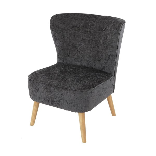 Fotel Vaasa Lounge, szary