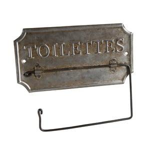 Metalowy uchwyt na papier toaletowy Antic Line Toilettes