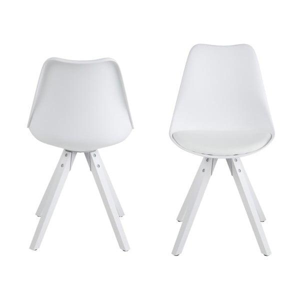 Krzesło do jadalni Dima, białe