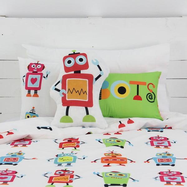 Mała poduszka Mr. Fox Robots, 40x30 cm