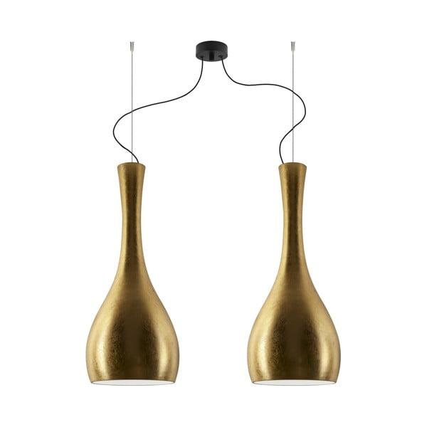 Podwójna lampa Sotto Luce ITTEKI Elementary gold/black/black