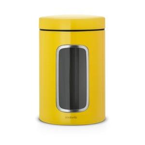 Żółty pojemnik Brabantia Storage