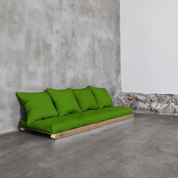 Szezlong Karup Figo, Raw/Lime, 70 cm