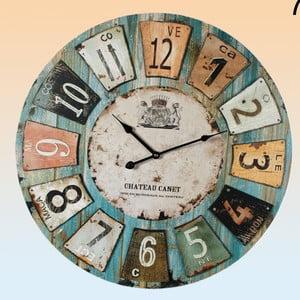 Zegar ścienny Chateau Canet
