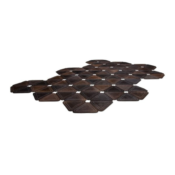 Dywan skórzany Brown Revolution, 160x230 cm
