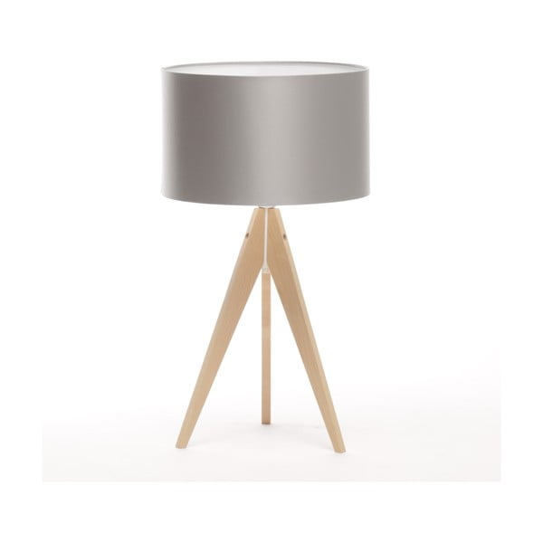 Lampa stołowa Artist Ice Silver/Natural Birch, 65 cm