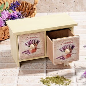 Drewniane pudełko na przyprawy Lux
