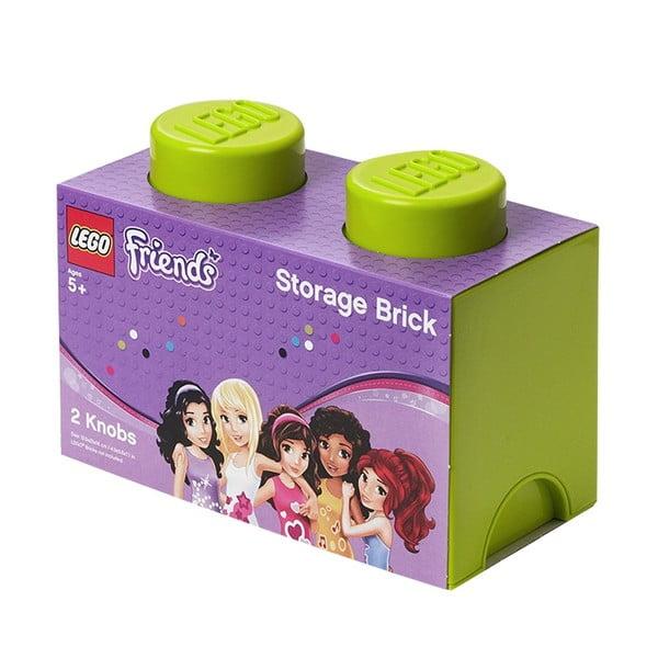 Pudełko Lego, limonkowe