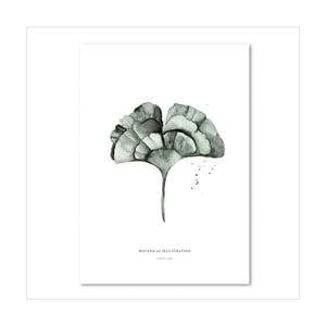 Plakat Leo La Douce Ginko Leaf, 29,7x42cm