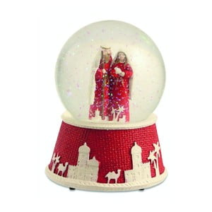 Szklana kula Red Nativity