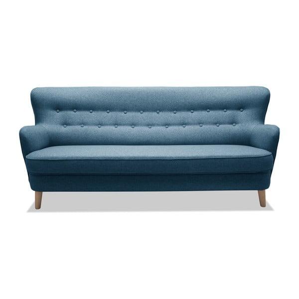Niebieska sofa 3-osobowa Vivonita Eden