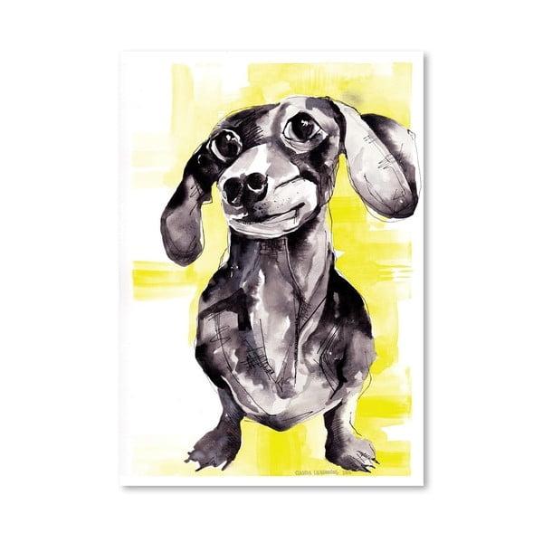 Plakat Dutch Hound, 30x42 cm