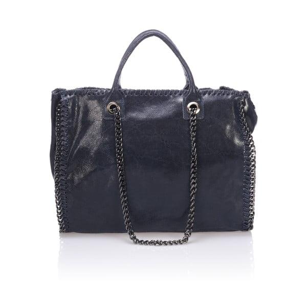Skórzana torebka Markese 1169 Blue