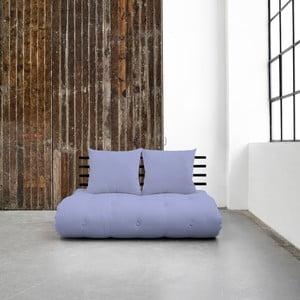 Sofa rozkładana Karup Shin Sano Black/Blue Breeze