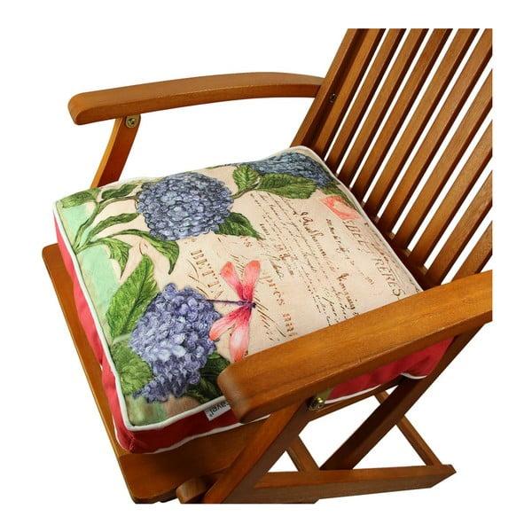 Poduszka na krzesło z wypełnieniem Gravel Roma, 42x42 cm