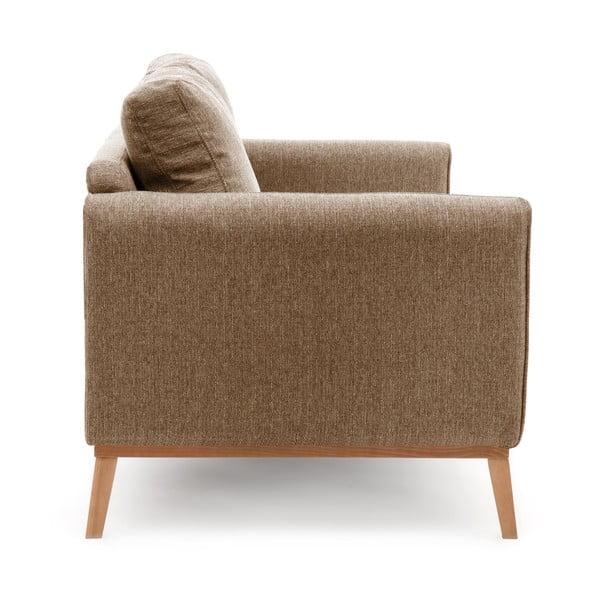 Jasnobrązowa sofa dwuosobowa VIVONITA Milton