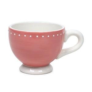 Kubek ceramiczny Marieke Pink Dots, 200 ml