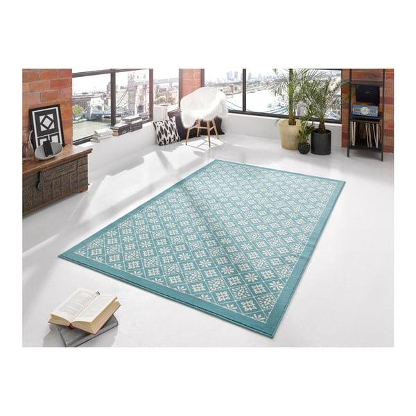 Jasnoniebieski dywan Hanse Home Gloria Tile, 120x170 cm