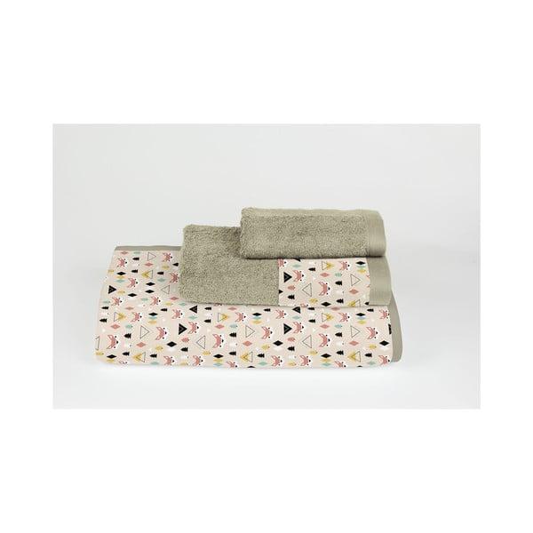 Zestaw 3 ręczników Foxes