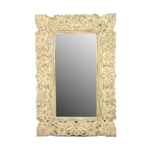 Lustro Orient 60x90 cm, beżowe
