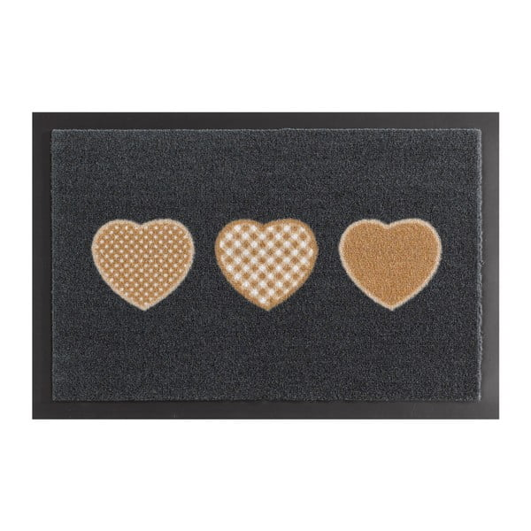 Wycieraczka Hanse Home Hearts, 40x60 cm
