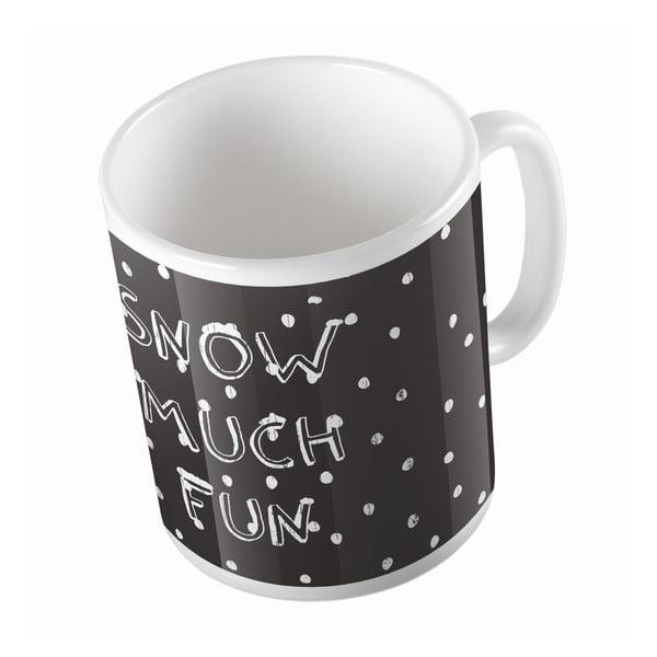 Ceramiczny kubek Snow Fun, 330 ml