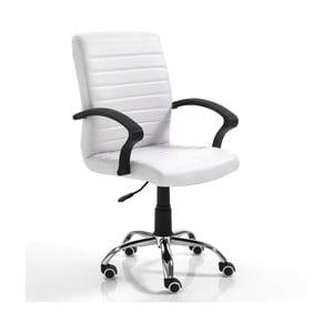 Białe krzesło biurowe Tomasucci Pany