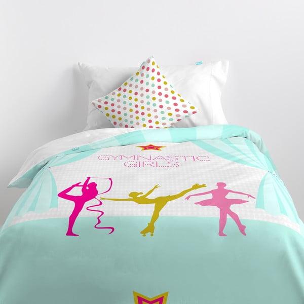 Poszwa na kołdrę i poduszkę Gymnastics, 140x200 cm