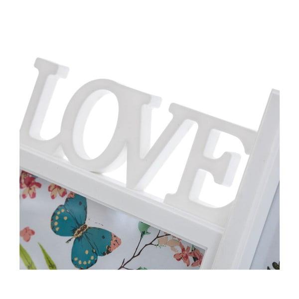 Ramka na zdjęcia Love, 46x22 cm