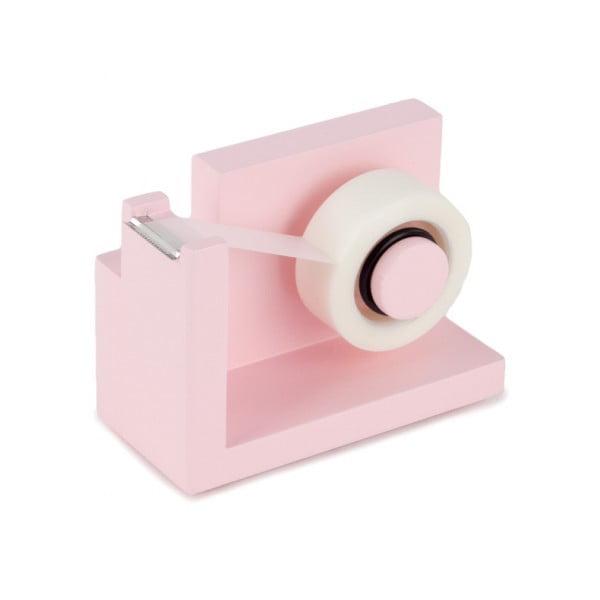 Podajnik z taśmą klejącą Design Ideas StikIt Pink