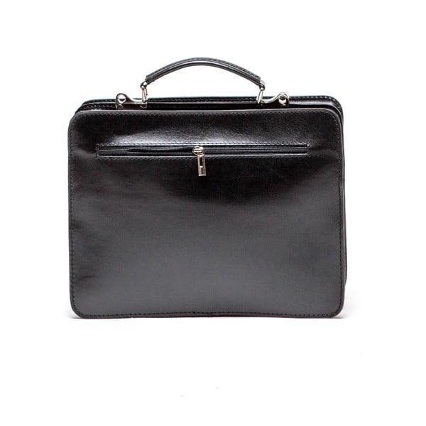 Skórzana torebka Isabella Rhea 305, czarna
