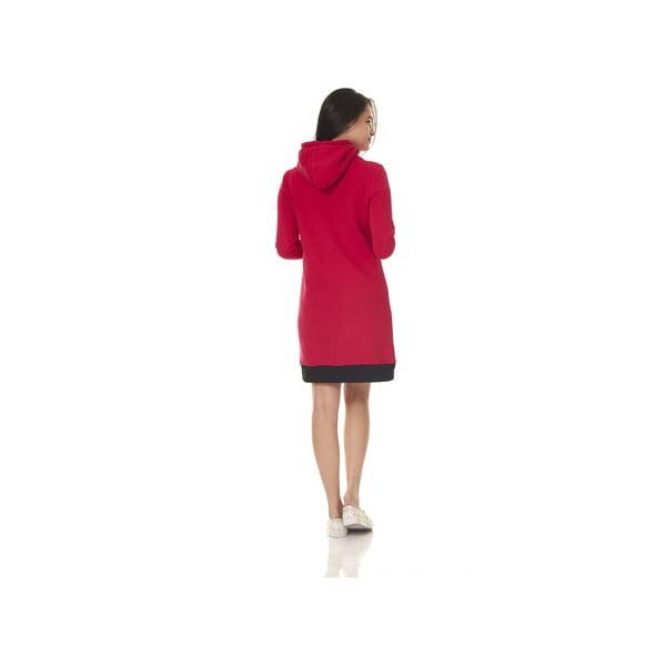 Domowa długa bluza Streetfly Red, S