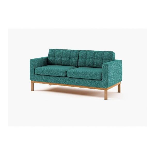 Trzyosobowa sofa Bolton, turkusowa