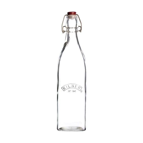 Butelka z plastikowym zamknięciem, 1 l