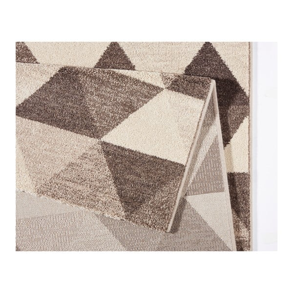 Beżowy dywan Mint Rugs Diamond Triangle, 133x195 cm