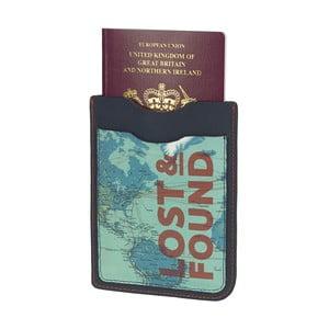 Etui na paszport i bilety Lost and Found