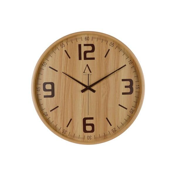 Drewniany zegar Honora, 53 cm
