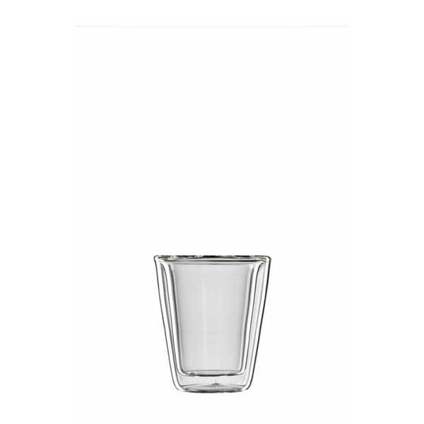 Zestaw 6  szklanych kubków na espresso bloomix Milano
