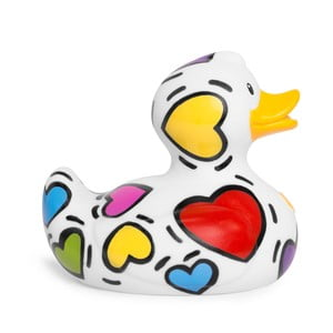 Kaczka do kąpieli Bud Ducks Pop Heart