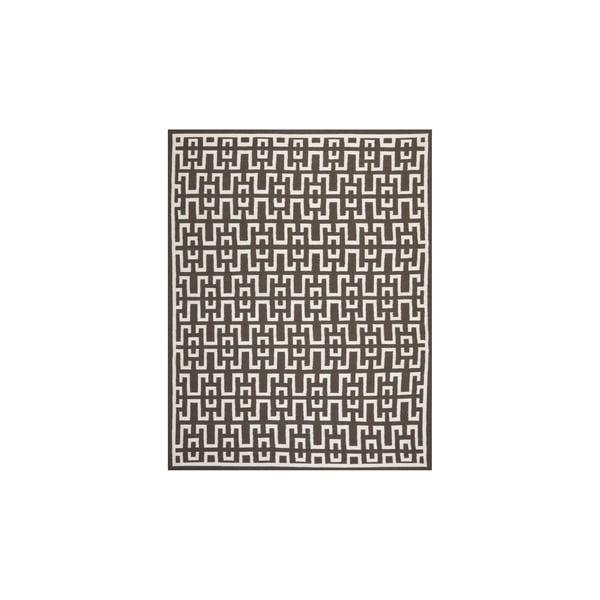 Wełniany dywan Safi 182x274 cm, brązowy