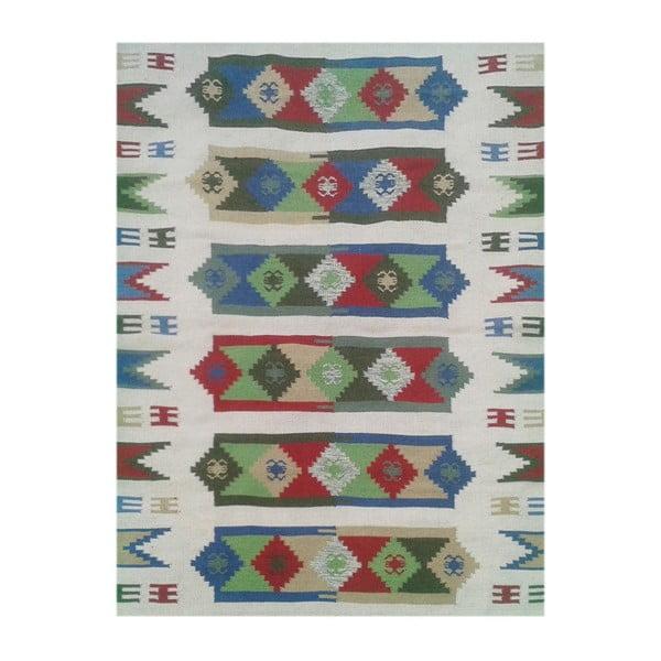 Dywan Bakero Kilim 1192 Multi/White, 160x240 cm