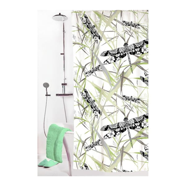 Zasłona prysznicowa Korento, 180x200 cm