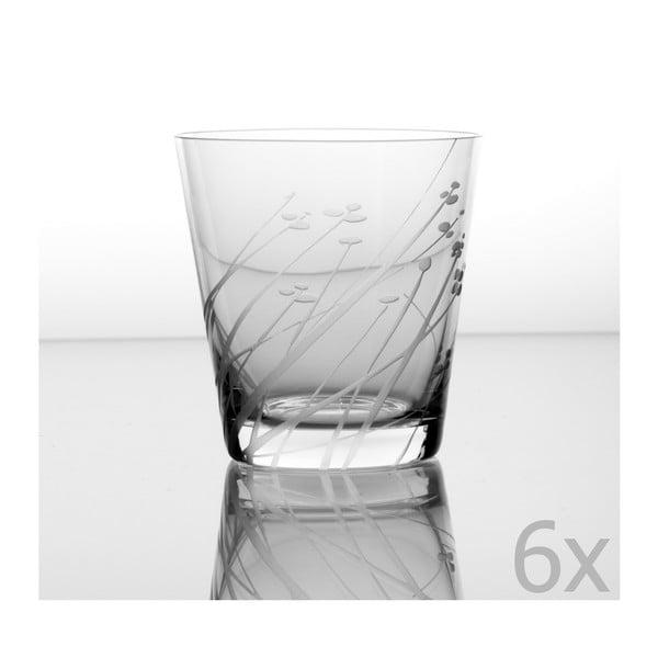 Zestaw 6 szklanek Len 330 ml