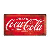 Tabliczka blaszana Coca Cola Classic, 25x50 cm