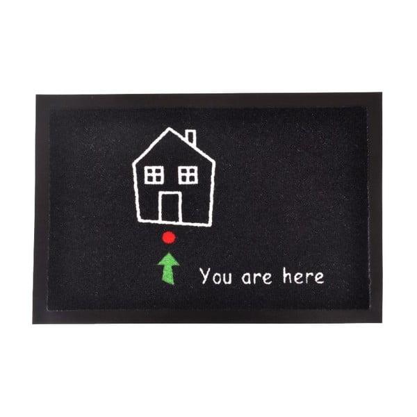 Wycieraczka Zala Living You Are Here, 40x60 cm