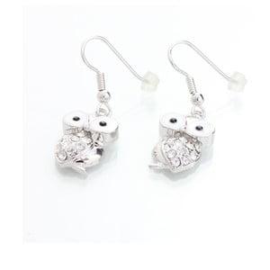 Kolczyki z kryształami Swarovski Elements Laura Bruni Owl