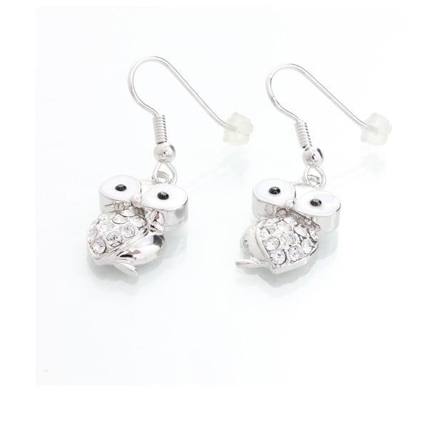 Kolczyki   z kryształami Swarovskiego® Laura Bruni Owl